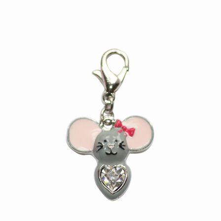 BOMBAY DUCK - Bombay Duck Metal Mouse Charm