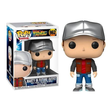 FUNKO TOYS - Funko Pop Movies Back To The Future Marty In Future Outfit Vinyl Figure
