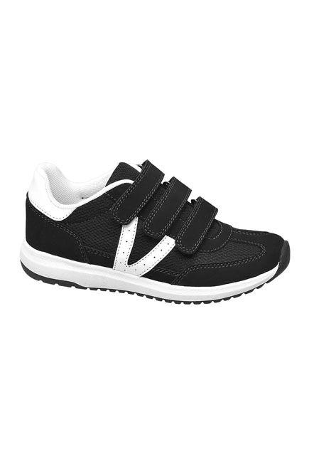 Victory - Black Sneakers, Kids Boy