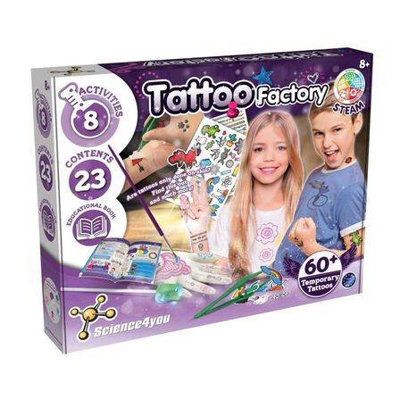 SCIENCE 4 YOU - Science 4 You Tattoo Factory