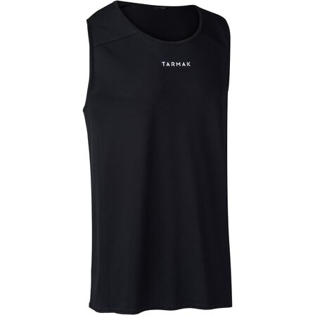 TARMAK - Large  B300 Adult Basketball Jersey, Black