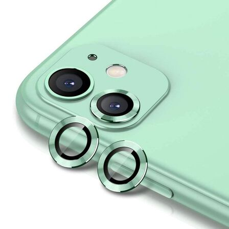HYPHEN - Hyphen Camera Lens Protector Mint Green for iPhone 11