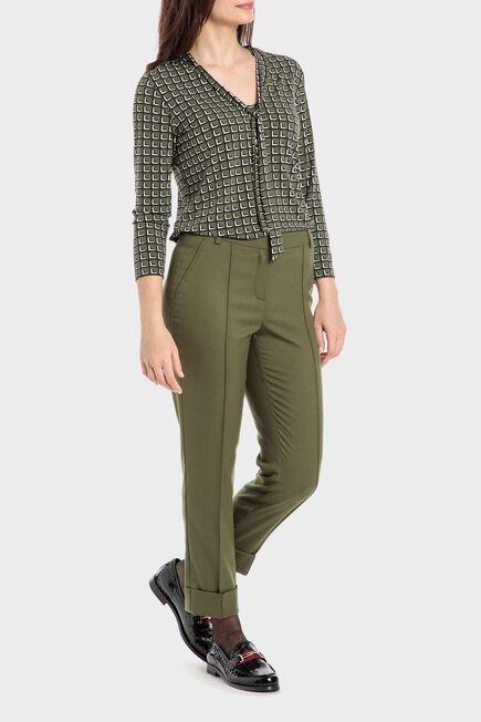 Punt Roma - Green capri trousers