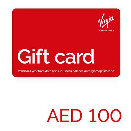 null - Virgin Megastore Gift Card - 100 AED