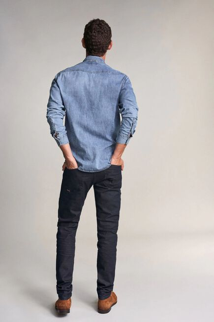 Salsa Jeans - Blue Slender slim carrot jeans in dark blue