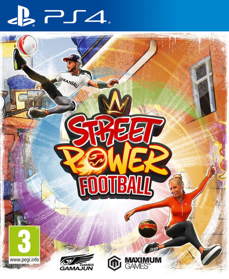 MAXIMUM GAMES - Street Power Football [Pre-owned]