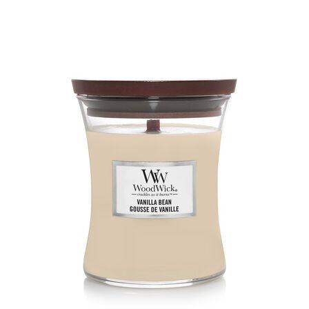 WOOD WICK - Woodwick Candle Vanilla Bean [Medium]