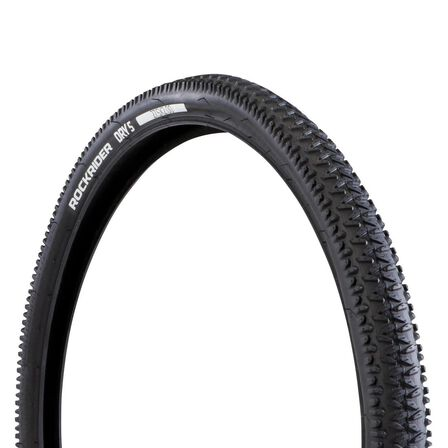 BTWIN - Unique Size  27.5 x 2.0 Wire Bead Mountain Bike Tyre Dry 5, Default