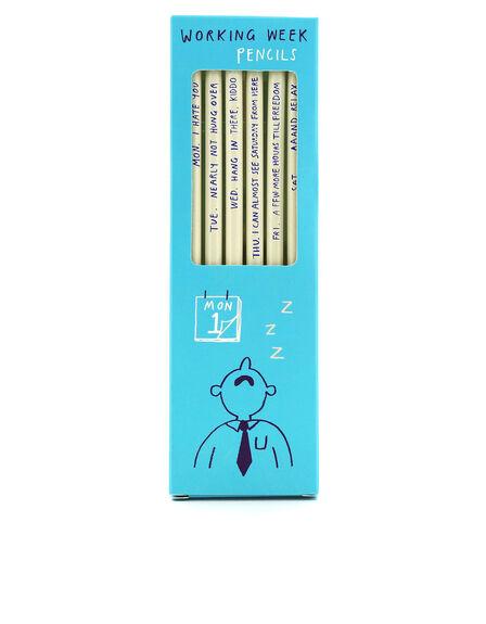USTUDIO DESIGN LTD - Ustudio Working Week Sharp & Blunt Pencils [Set of 6]