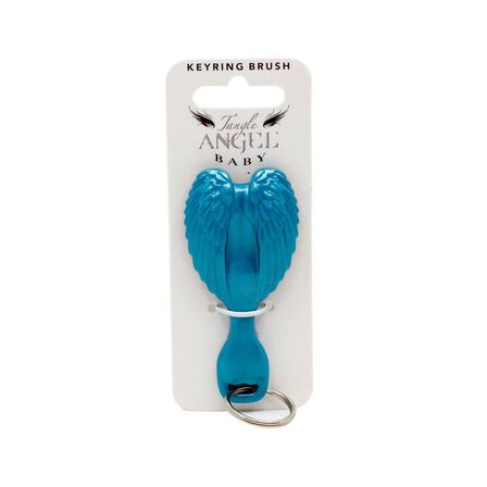 TANGLE ANGEL - Tangle Angel Hair Brush Key Ring Turquoise