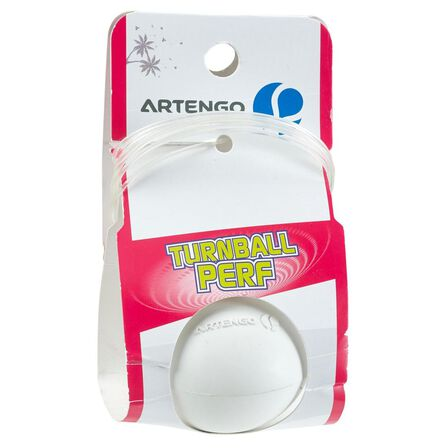 ARTENGO - Unique Size  TURNBALL PERF BALL Speedball Ball - White Rubber, Default