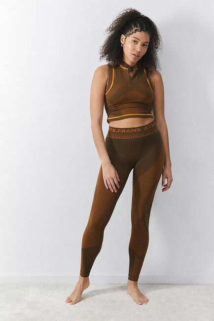 Urban Outfitters - BRN iets frans... Logo Intarsia Leggings