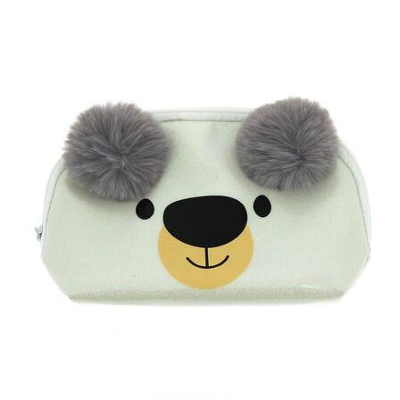 BLUEPRINT COLLECTIONS - Happy Zoo Polar Bear Dome Pencil Case