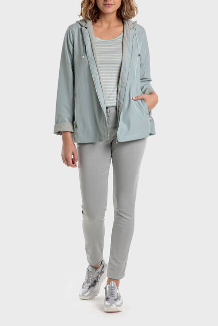 Punt Roma - Grey trousers with pockets