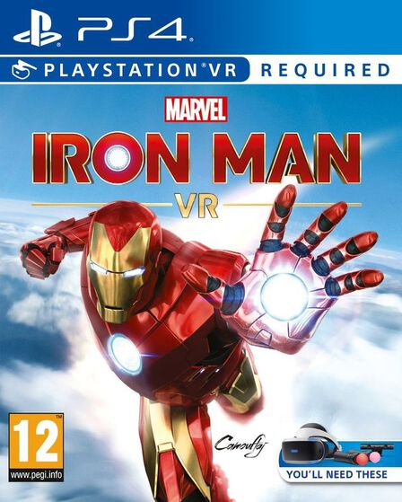 SONY COMPUTER ENTERTAINMENT EUROPE - Marvel's Iron Man VR - PS4