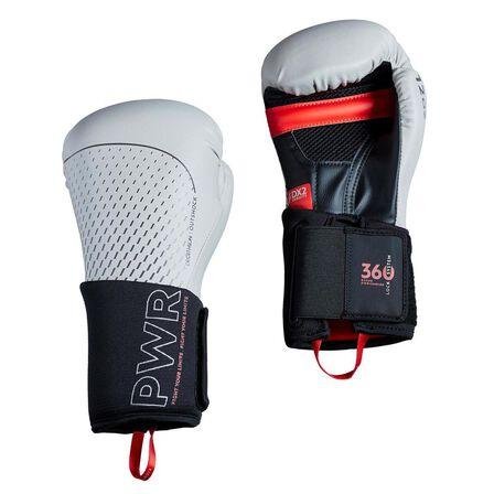 OUTSHOCK - 12 Oz Boxing Gloves 500 Ergo - Linen