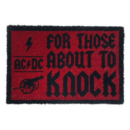 PYRAMID POSTERS - AC/DC For Those About To Knock Doormat [60 x 40 cm]