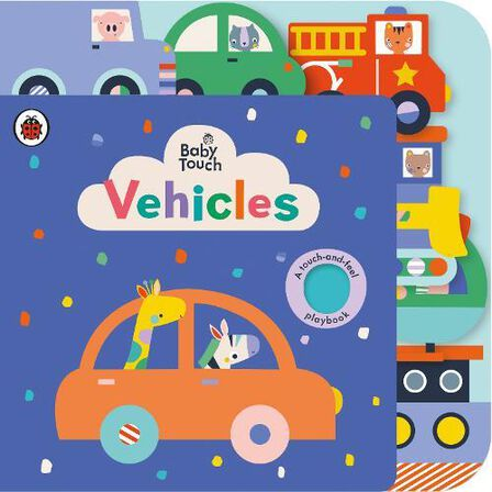 PENGUIN BOOKS UK - Baby Touch Vehicles Tab Book