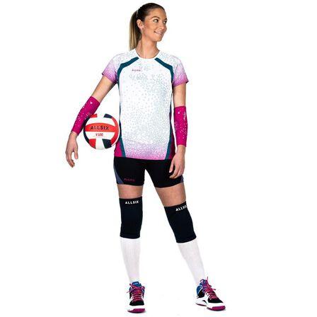 KIPSTA - V500 volleyball knee pads - black