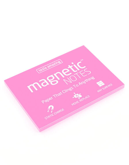 MAGNETIC STICKY NOTES - Magnetic Notes Pink M