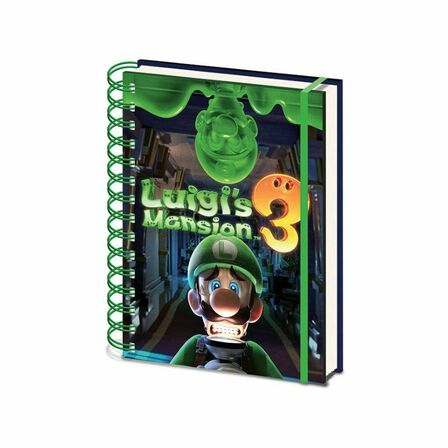 PYRAMID POSTERS - Luigi's Mansion 3 Gooigi A5 Notebook