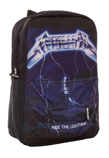 ROCKSAX - Metallica Ride the Lightning Classic Backpack
