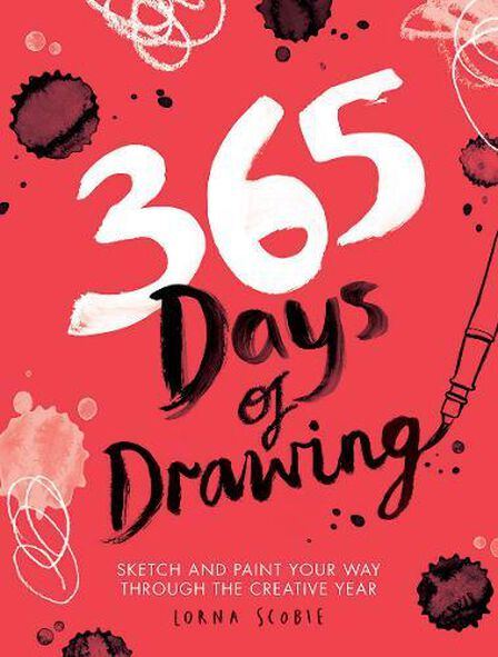 HARDIE GRANT BOOKS UK - 365 Days Of Drawing Sketch And Paint Your Way Through The Creative Year