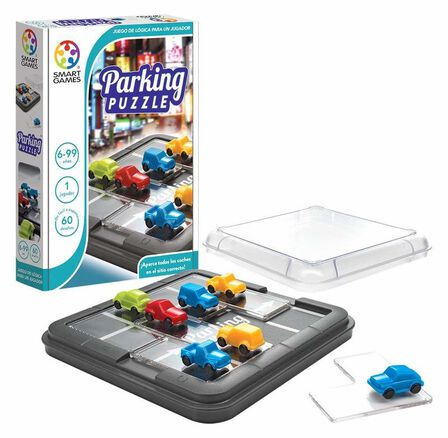 SMART GAMES - Smartgames Compacts Parking Puzzler