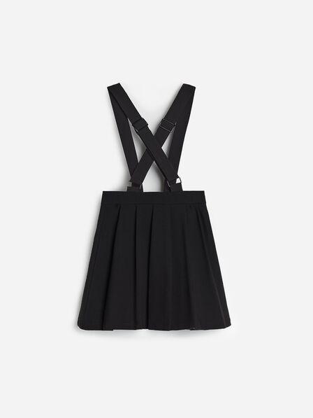 Reserved - Black Skirt With Braces , Kids Girl