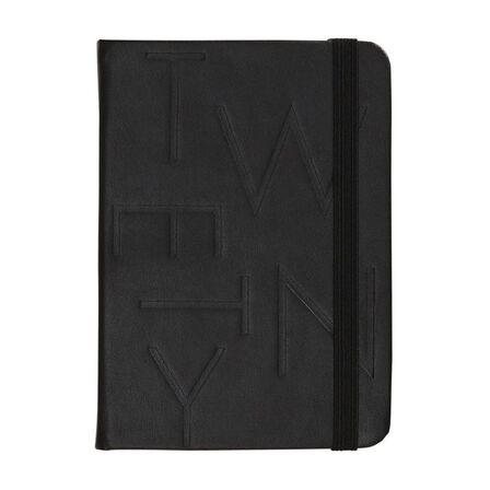 KIKKI.K - kikki.K 2020 A6 Bonded Leather Weekly Diary Jet Black