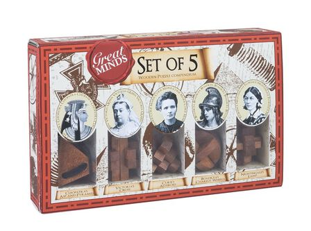 PROFESSOR PUZZLE LTD - Professor Puzzle Great Minds Collection Women [Set of 5]