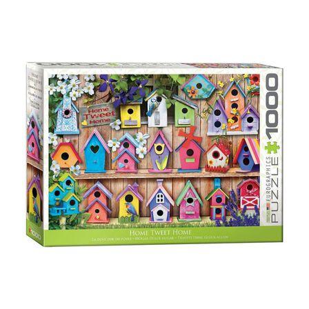 EUROGRAPHICS - Eurographics Home Tweet Home 1000 Pcs Jigsaw Puzzle