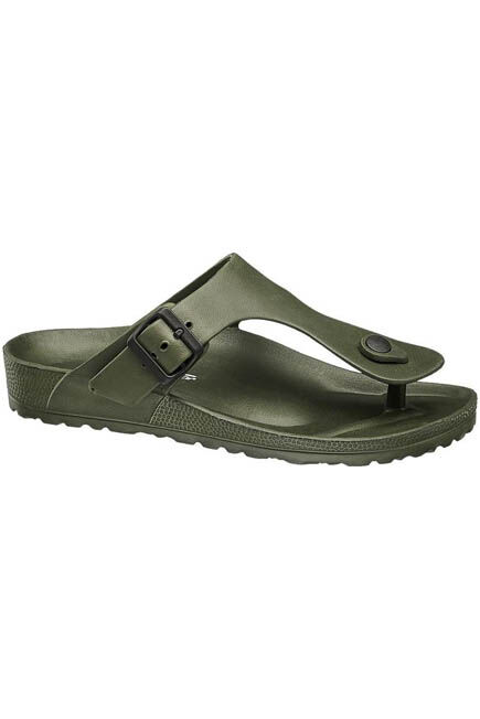 Blue Fin - Olive Toe Seperator Sandals, Men
