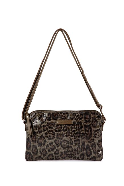 Punt Roma - Animal print pocketbook style bag