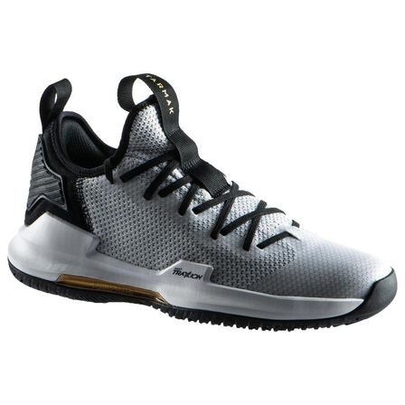 TARMAK - EU 45  Men's Low-Rise Basketball Shoes Fast 500, Lunar Grey