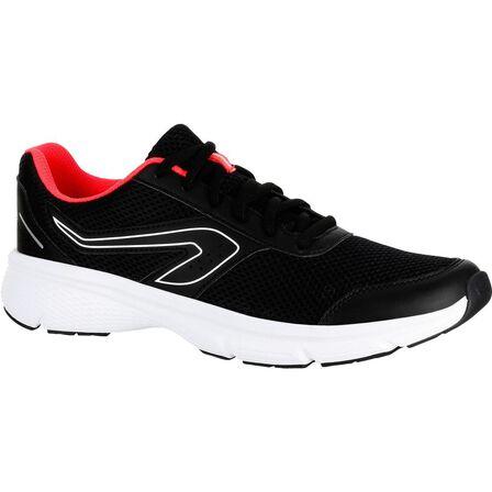 KALENJI - EU 41 Run Cushion Women's Jogging Shoes - Black