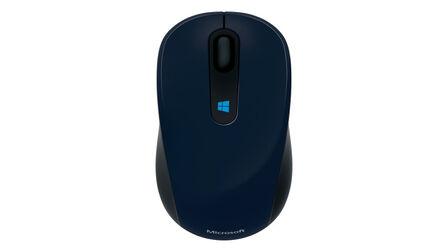 Microsoft - Microsoft Sculpt Mobile Mouse Blue