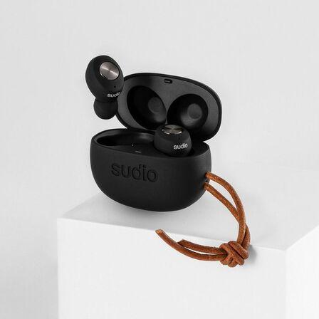 SUDIO - Sudio Tolv True Wireless Earbuds Black