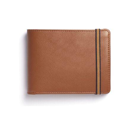 CARRE ROYAL - Carre Royal Portefeuille Porte-Carte Avec Monnaie Leather Wallet Brandy