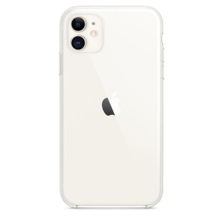 APPLE - Apple Clear Case for iPhone 11