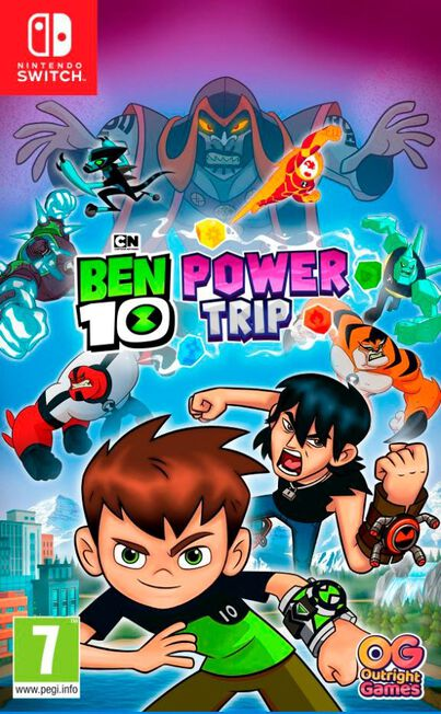 NAMCO BANDAI - Ben 10 Power Trip - Nintendo Switch