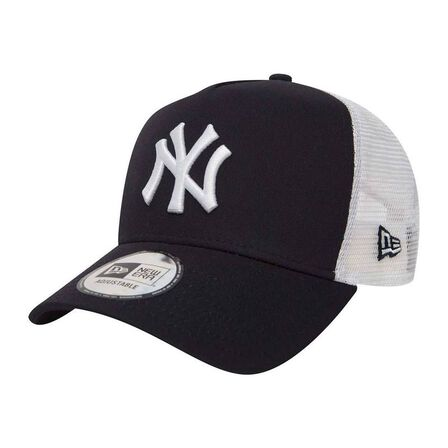 NEW ERA - New Era Mlb Clean Trucker 2 Ny Yankees Navy/White Men's cap Os