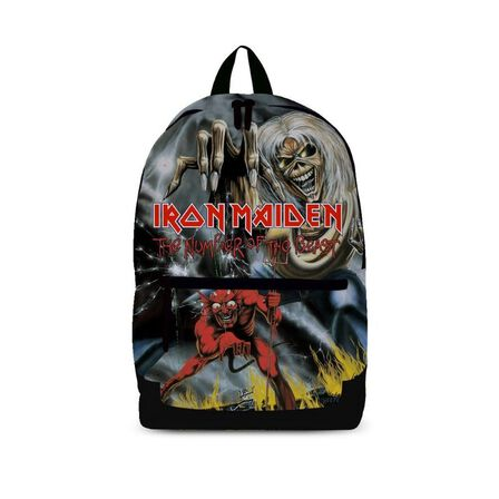 ROCKSAX - Iron Maiden Number of the Beast Classic Backpack