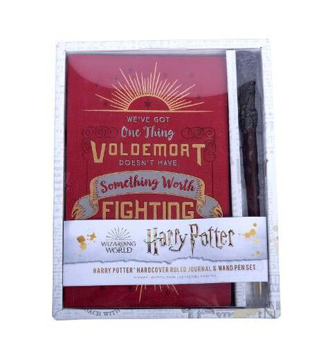 INSIGHT EDITIONS - Harry Potter Harry Potter Hardcover Ruled Journal And Wand Pen Set