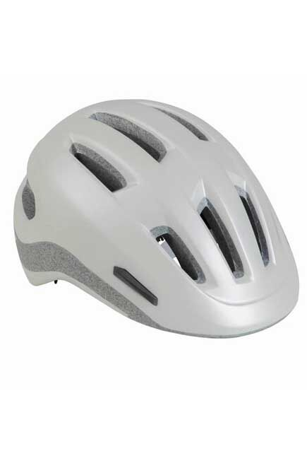 BTWIN - 500 city cycling helmet - white, L