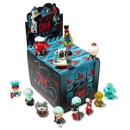 KIDROBOT - Kidrobot Dark Harbor Mini Figure Series By Kathie Olivas and Brandt Peters Blind Box [Includes 1]