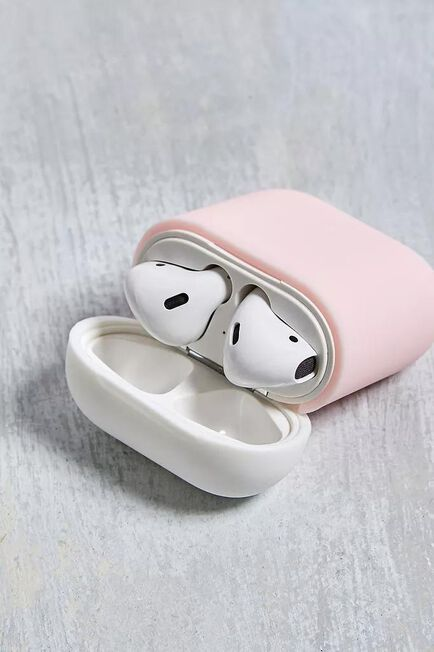 Urban Outfitters - Pink Elago Airpods Silicone duo Case