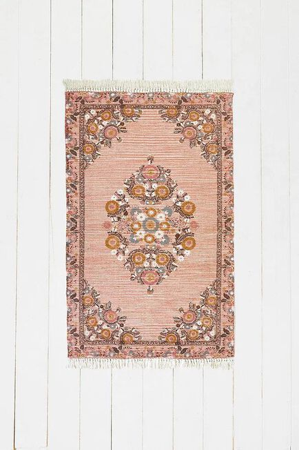Urban Outfitters - PINK Stina Floral 3x5 Rug