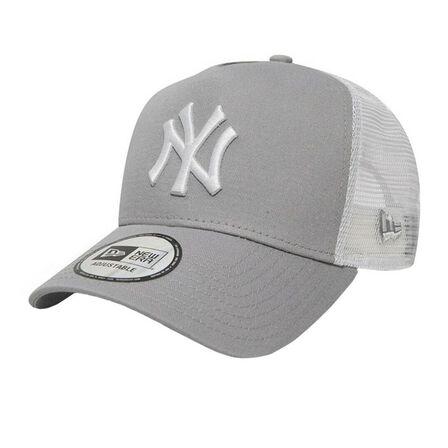 NEW ERA - New Era Mlb Clean Trucker 2 Ny Yankees Gray/White Men's cap Os