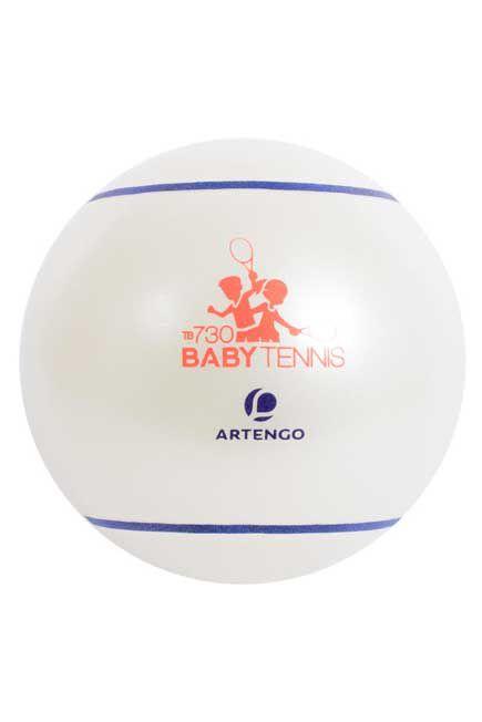 ARTENGO - TB130 Baby Tennis Ball 26cm - White, Unique Size